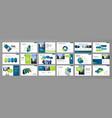 presentation templates design vector image vector image