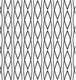 Seamless geometric black white pattern background vector image vector image