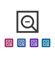 simple common zoom out icon vector image