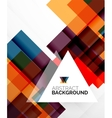Square shape abstract layouts business template vector image