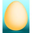 Gold egg vector image