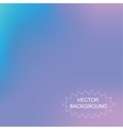 Abstract mesh blurred background blue color vector image