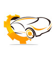 auto car service template vector image