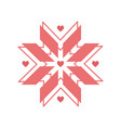 christmas icon design vector image vector image