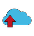 Cloud storage icon image