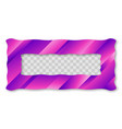colored trendy gradient frame vector image vector image