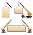 Construction Machines Set 6 vector image vector image