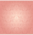Lace pink floral background vector image vector image