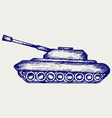 Main Battle Tank vector image vector image