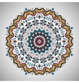 Ornamental roundgeometric pattern in aztec style vector image vector image