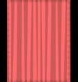 striped pink background with cute vertical vector image