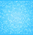 swimming pool ripple water texture vector image