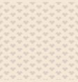 vintage geometric seamless pattern in beige vector image vector image