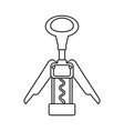 Corkscrew for wine bottles
