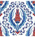 Floral Ornamental pattern vector image vector image