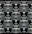 3d baroque seamless pattern abstract modern vector image