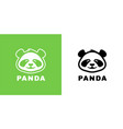 bapanda logo icon vector image