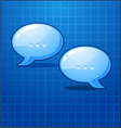 bubble chat icon vector image