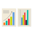 chart and graphic collection vector image vector image
