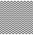 Chevron zigzag black and white seamless pattern vector image vector image