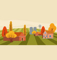 Farm modern flat cartoon design style