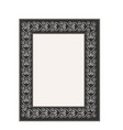 frame with wavy line fashion graphic background vector image vector image