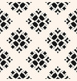 geometric ornamental seamless black pattern vector image vector image