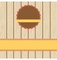Scrap cardvintage design EPS8 vector image