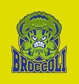 brocoli logo vector image vector image