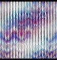 imitation sweater knit melange effect vector image vector image