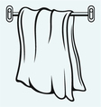 Kitchen towel vector image