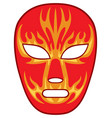 mexican wrestling mask vector image