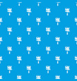 roll brush pattern seamless blue vector image vector image