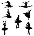 ballerinas vector image vector image