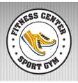 footwear sport gym vector image