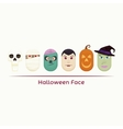 Halloween Face vector image