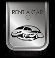 rent a car of different classes vector image vector image