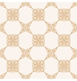Seamless gold baroque background in vintage style vector image