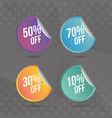 super sale off vector image