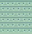 tiny birds dotty stripes seamless pattern vector image vector image