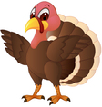 turkey cartoon vector image