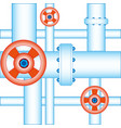 pipes for gas vector image