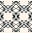 seamless pattern with geometric lines stripes vector image