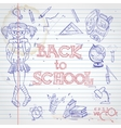 School Background vector image
