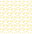 brush banana seamless pattern vector image vector image