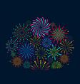 Festive fireworks festive christmas salute new