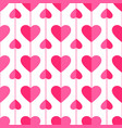 heart seamless pattern love valentine day romantic vector image vector image