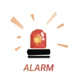 Lowpoly alarm glossy vector image