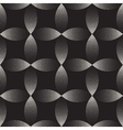 Seamless Black And White Stippling Arc vector image