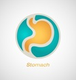 Stomach Poster vector image vector image